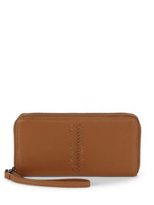 Kooba Calgary Leather Wristlet Clutch