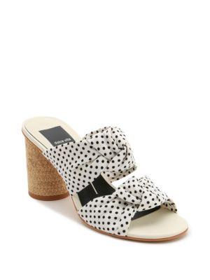 Dolce Vita Jene Slip-On Polka Dot Sandals