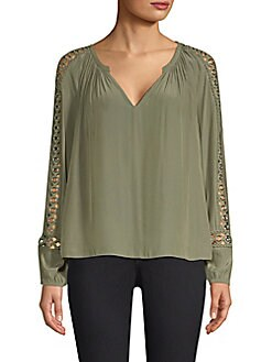 12f0a08822fee6 QUICK VIEW. Ramy Brook. Sera Grommet Sleeve Blouse