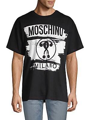 4beb34879 Moschino - Metallic Logo Stretch Jeans - saksoff5th.com
