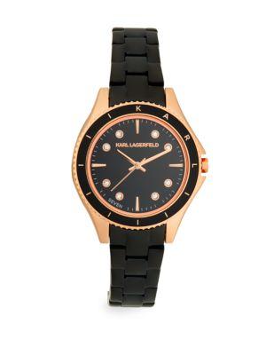 Jan Rose-Goldtone Stainless Steel Bracelet Watch in Rose Gold