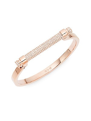 Pavé Crystal Bar Friend Bangle by Swarovski