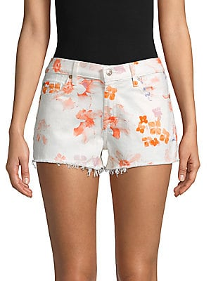 Floral Print Shorts by Allison New York