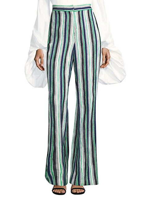 AMUR | Nicole Striped Pants | Goxip