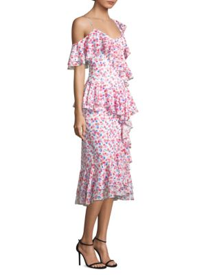 Amur Dylan Ruffle Dress