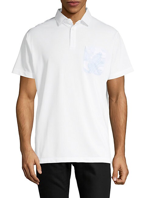 DEVEREUX | Short-Sleeve Polo | Goxip