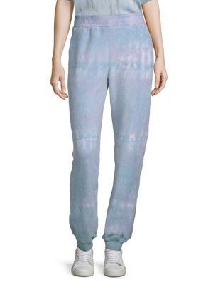 Electric & Rose Strand Tie-Dye Sweat Pants