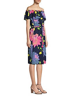 1e15294e95d Amelia Floral Dress BLACK MULTI. QUICK VIEW. Product image