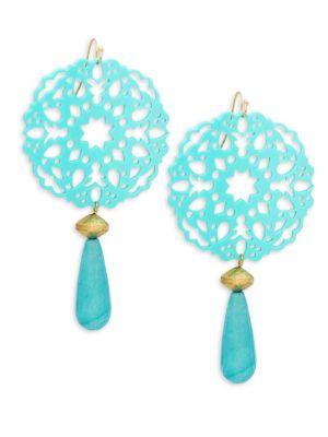 Panacea Accessories Filigree Drop Earrings