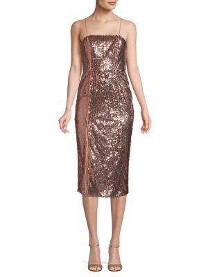 Jay Godfrey Sequin Sheath Dress