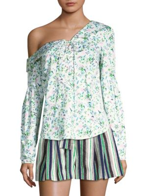 Amur Tops Reagan One-Shoulder Blouse