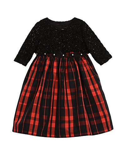 1591b92b6d5 Pippa   Julie Baby Girl s   Little Girl s Plaid 2-Piece Jacket ...