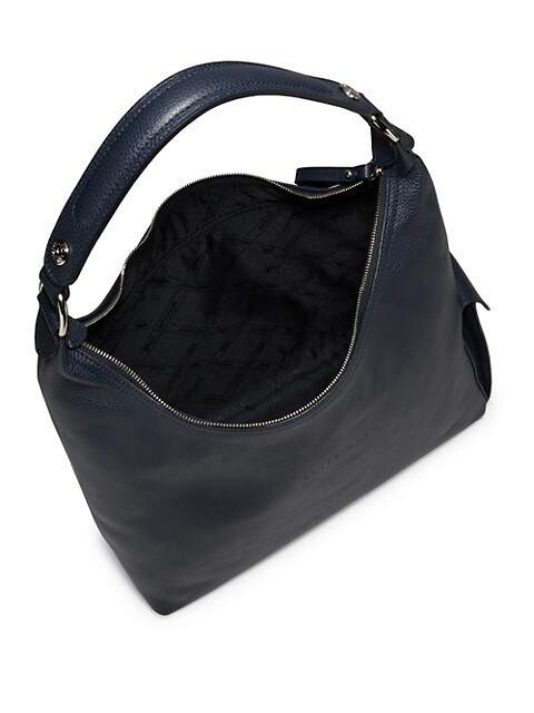 Le Foulonne Leather Hobo Bag