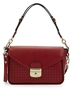 Small Mademoiselle Leather Crossbody Bag GARNET RED. QUICK VIEW. Product  image 267c6a365f