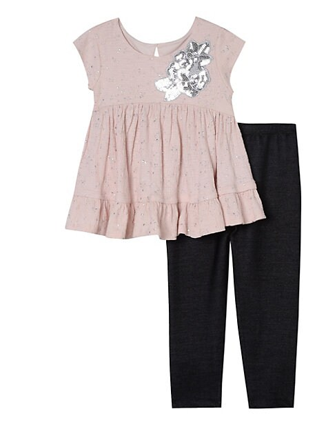 Little Girls 2Piece Top and Legging Set