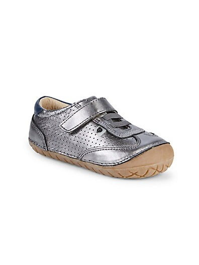 2743c8bbb Old Soles Little Girl s Sporty Pave Leather Sneakers ...