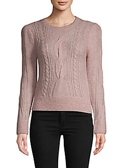169df2d427c1 QUICK VIEW. Rebecca Taylor. Knotted Long-Sleeve Sweater