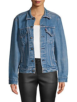 35315d6b Elizabeth and James. Elizabeth & James Abbey Vintage Jean Jacket