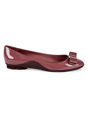 1401e9284b0 Salvatore Ferragamo - Bali Jelly Embossed-Bow Thong Sandals ...