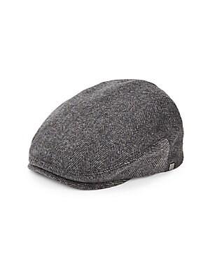 Block Headwear  HERRINGBONE NEWSBOY CAP