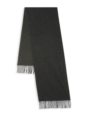 Saks Fifth Avenue Double Face Cashmere Fringe Scarf