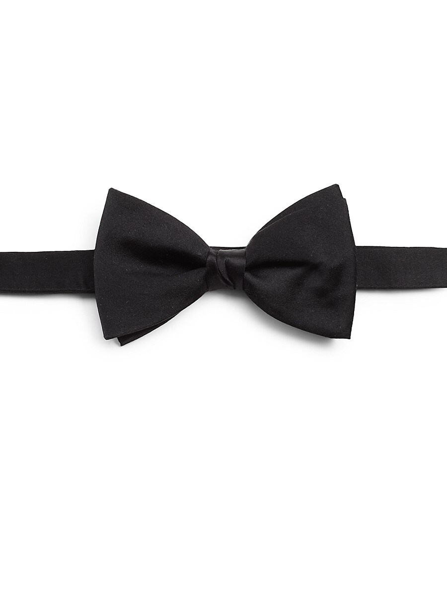 Men's Pre-Tied Silk Satin Bow Tie