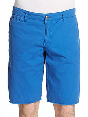St. Barts Cotton Twill Shorts