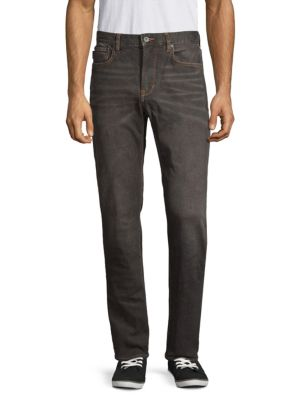 John Varvatos Jeans Authentic Classic Straight-Fit Logo Jeans