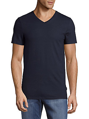 Cotton Slim-Fit V-Neck T-Shirt