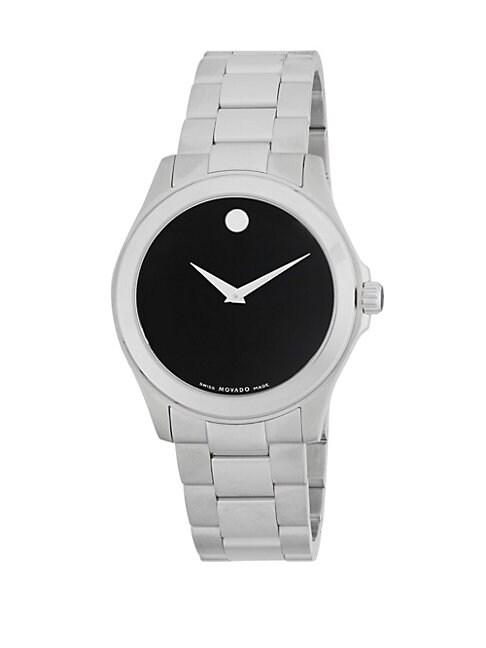 MOVADO | Stainless Steel Bracelet Watch | Goxip