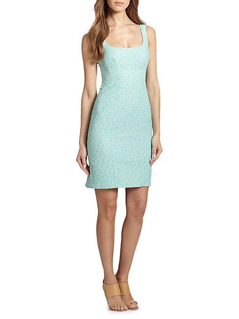 Demure Sheath Dress