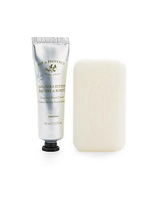 Milk & Shea Butter Dry Skin Hand Cream & Soap Set   No Color