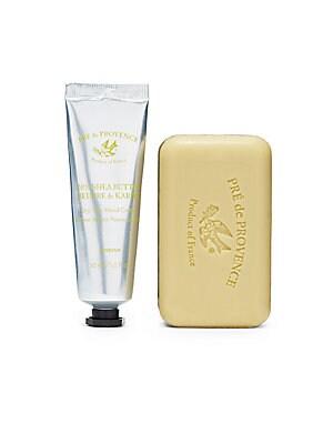 Verbena & Shea Butter Hand Cream & Soap Set   No Color